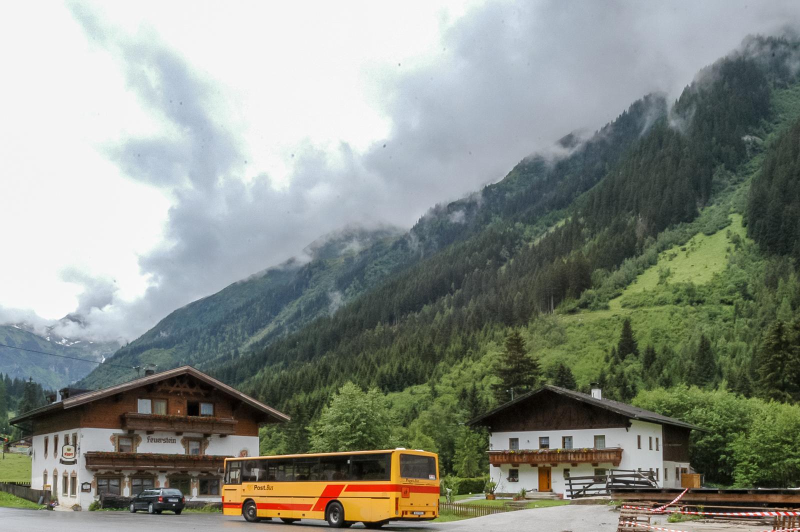 Am Ausgangsort im Gschnitztal beim Gasthof Feuerstein